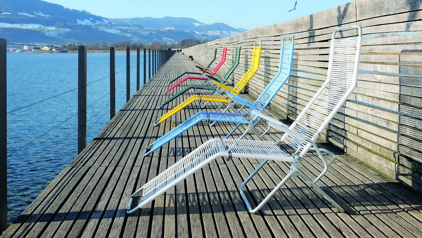 Vitra home stories for spring for Design liegestuhl