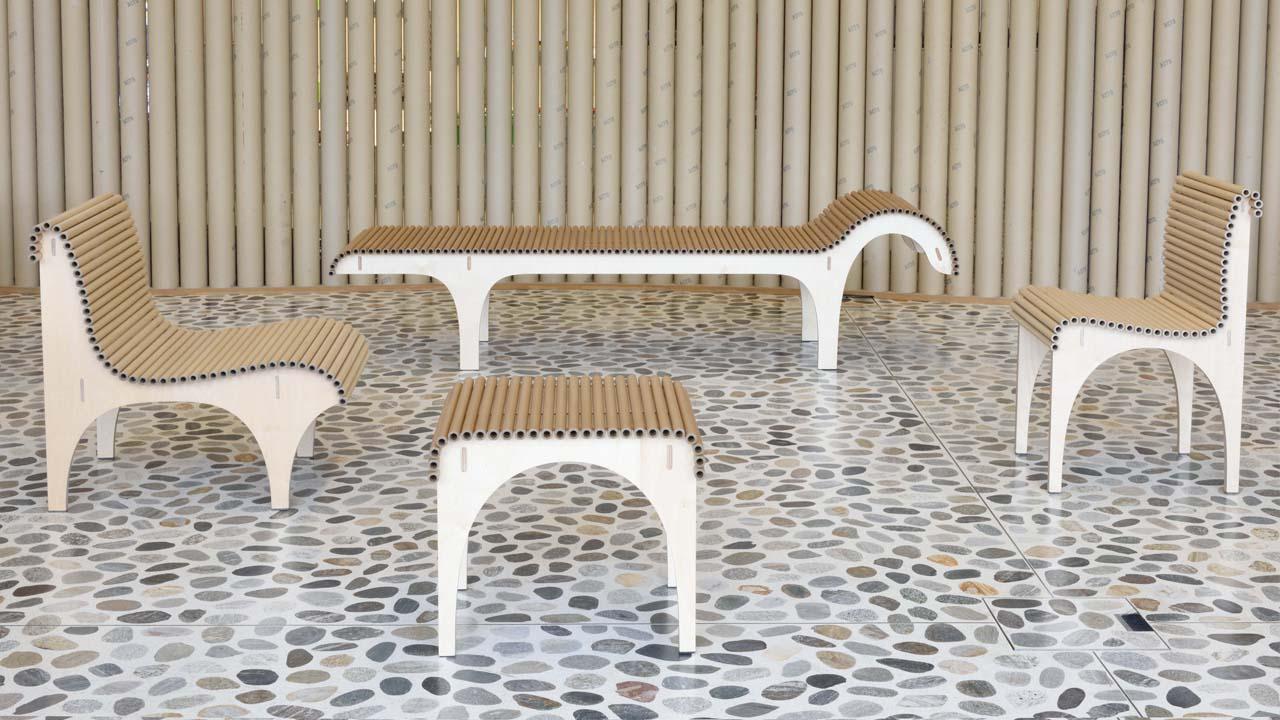 die carta collection von shigeru ban bekommt zuwachs. Black Bedroom Furniture Sets. Home Design Ideas